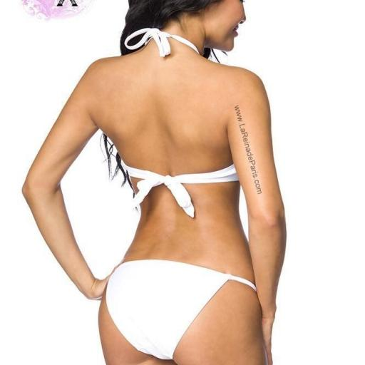 Sexy bikini blanco hermoso Kitty [1]