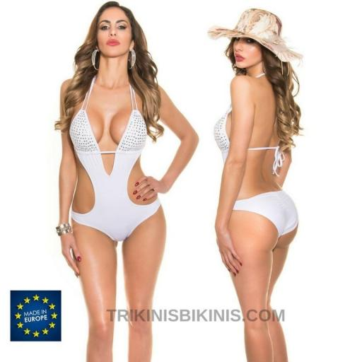 Trikini blanco moda 2020 summer design