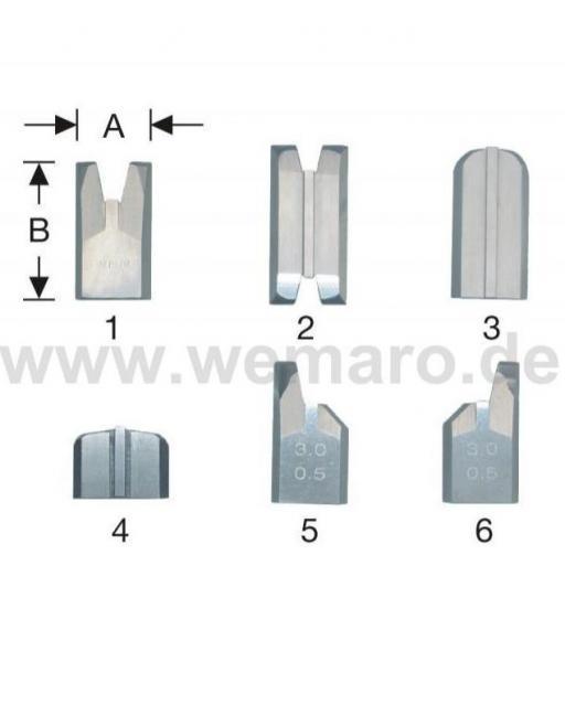 Cuchillas  para limpiadoras  automáticas o semiautomáticas