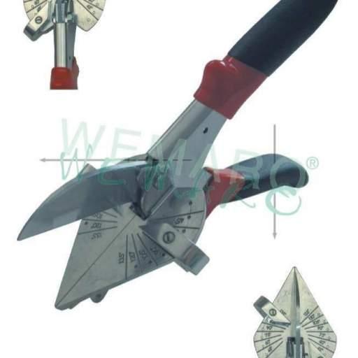 Tijeras con tope regulable para corta la junta