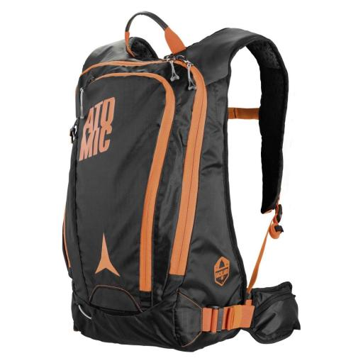 BACKLAND PACK 18L BLACK/ORANGE