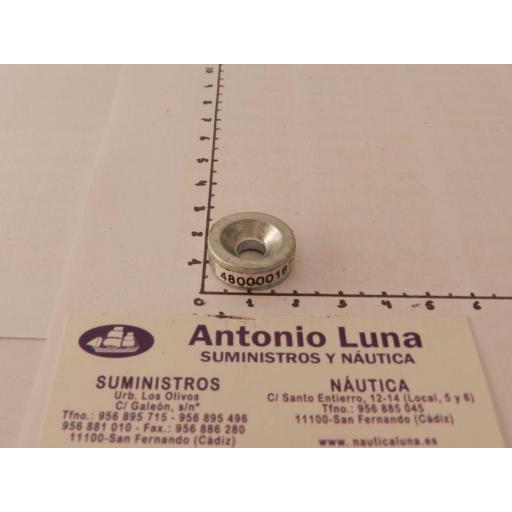 Ánodo de zinc (equivalente 676-45251-00 Yamaha) Tecnoseal
