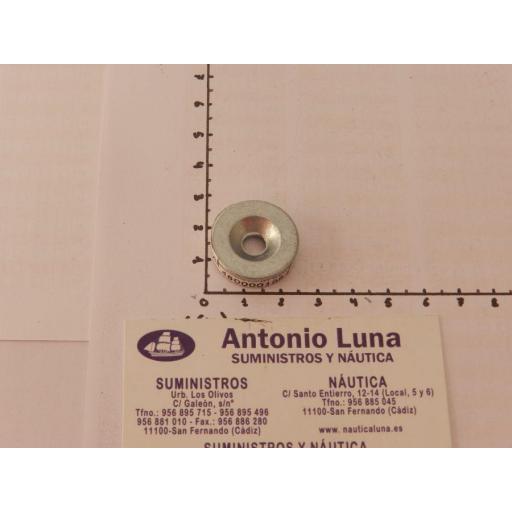 Ánodo de zinc (equivalente 823913 Mercury) Tecnoseal