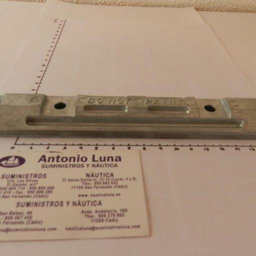 Ánodo de zinc (equivalente 6H1-45251-02 Yamaha) Tecnoseal