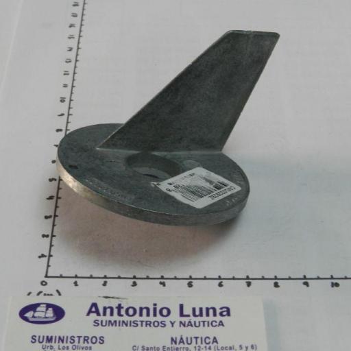 Ánodo de zinc (equivalente 5032929 OMC/Johnson/Evinrude) Canada Metal - Martyr Anodes