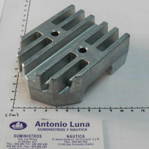 Ánodo de zinc (equivalente 43994 Mercruiser) Tecnoseal