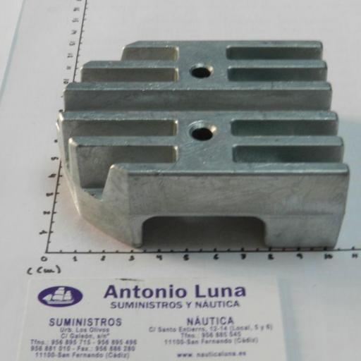 Ánodo de zinc (equivalente 43994 Mercruiser) Tecnoseal [1]