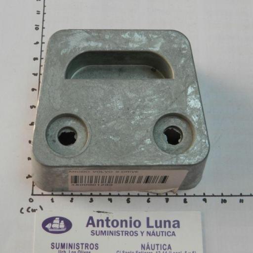 Ánodo de zinc (equivalente 3854130 Volvo Penta) Tecnoseal