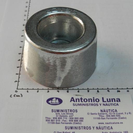 Ánodo de zinc para atornillar (tipo Vetus) 1 kg Imnasa