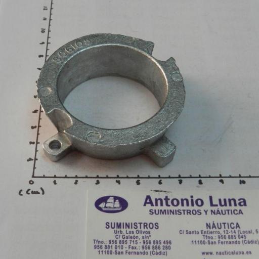 Ánodo de aluminio (equivalente 806105Q1 Mercruiser)
