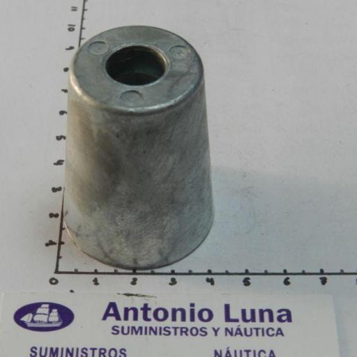 Ánodo de zinc radice para ejes de 30 mm Tecnoseal