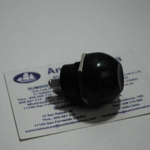 Interruptor (pulsador) estanco de 12V