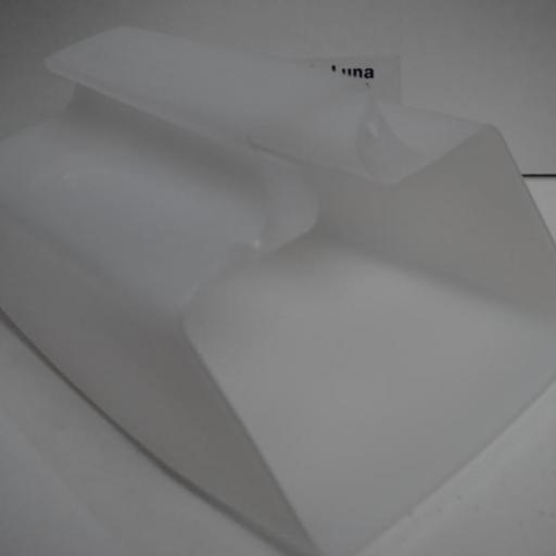 Achicador flexible de plástico