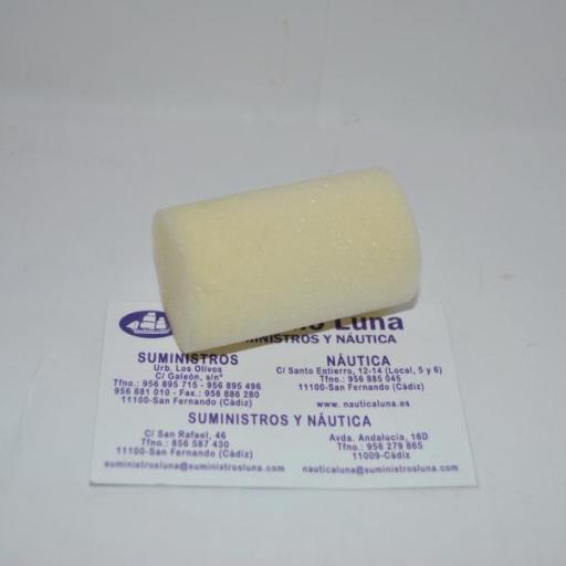 Recambio de rodillo de espuma de 5 cms Moltopren Superfein Jeivsa