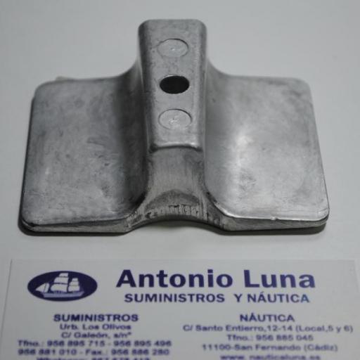Ánodo de magnesio original 61N-45251-01-00 Yamaha