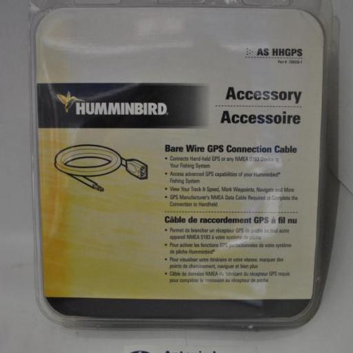 Cable para conexión de GPS y VHF  modelo AS HHGPS Humminbird