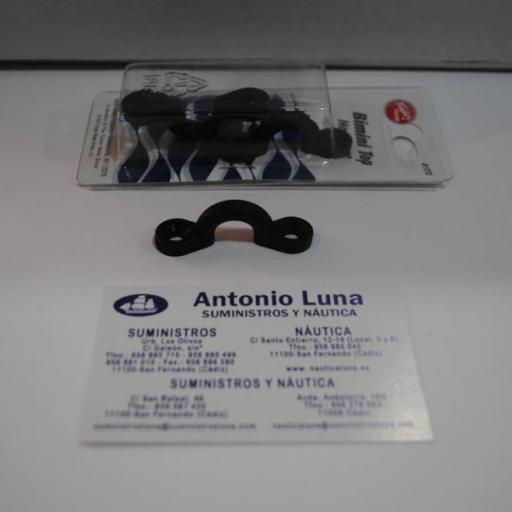 Puente bimini negro (pack/4 uds) Taylor