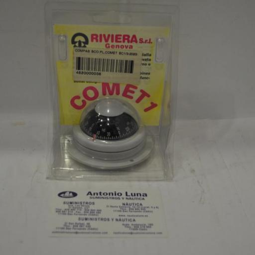 Compás de superficie blanco Comet BC1 Riviera