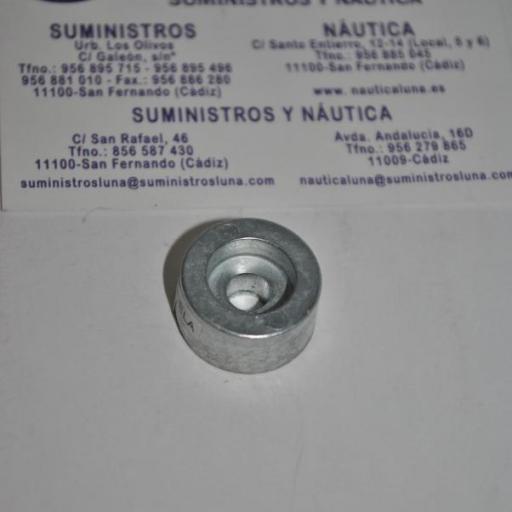 Ánodo de zinc (equivalente 55321-87J01 Suzuki) Tecnoseal