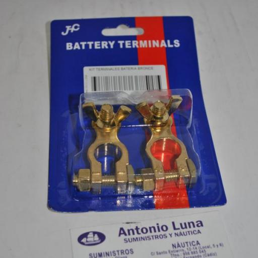 Kit de terminales de batería de bronce Goldenship