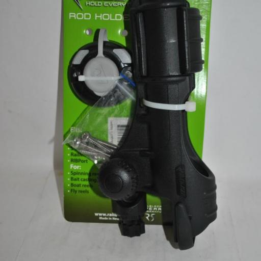 Portacañas (cañero) Rod Holder II negro con base Startport Railblaza