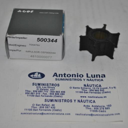 Impulsor (equivalente Tohatsu 3B2-65021-1) CEF500344 CEF