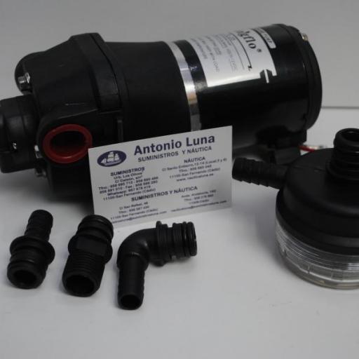 Bomba de presión 12V 12,5 l/m Singflo