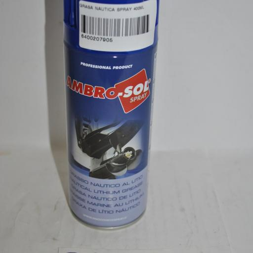 Grasa náutica de litio spray 400 ml Ambro-Sol