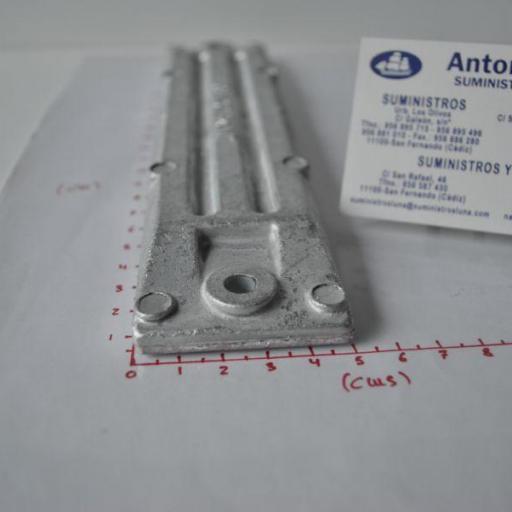 Ánodo de zinc (equivalente 06411-ZW1-000 Honda) Canada Metal - Martyr Anodes