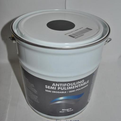 Patente (antifouling) semipulimentable(80%) I3 negro 2,5 lts Imnasa