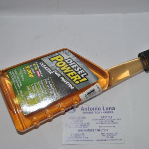 Limpiador de inyectores diesel 355ml Gold Eagle [1]