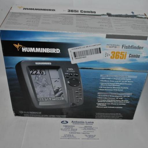 Sonda/Gps/Plotter (Combo) LCD 356XI (incluye cartografía Sines-Estepona) Humminbird