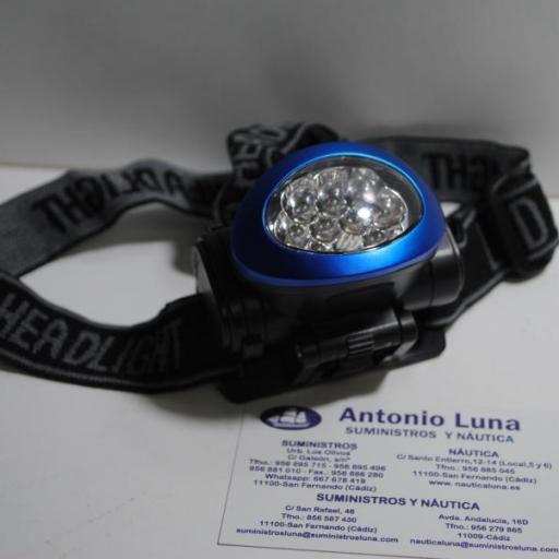 Linterna frontal de led Weatherproof [3]
