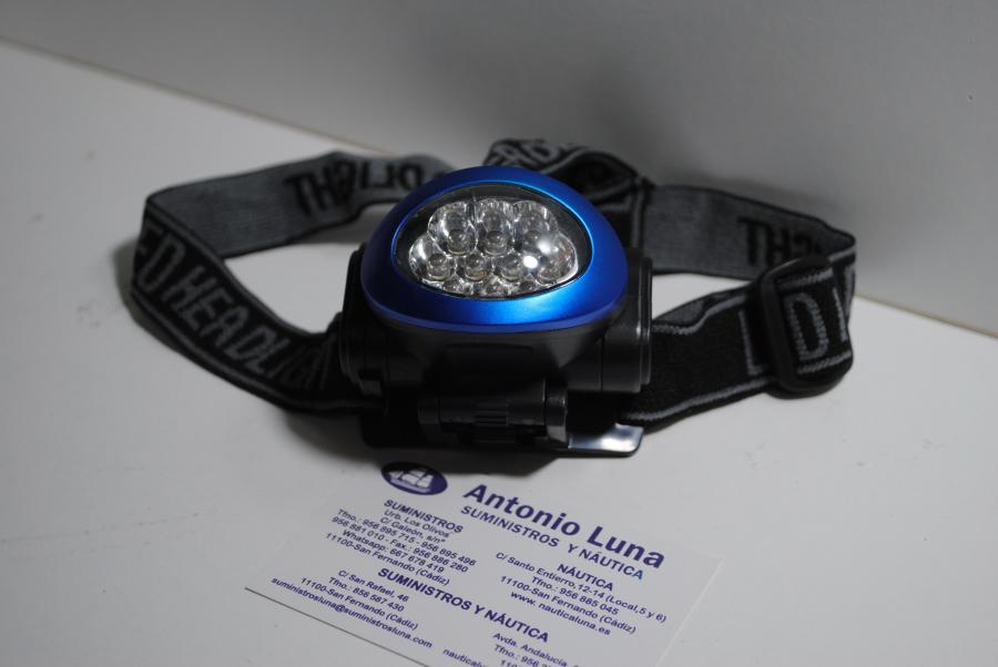 Linterna frontal de led Weatherproof