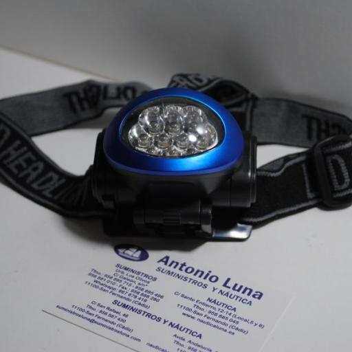 Linterna frontal de led Weatherproof