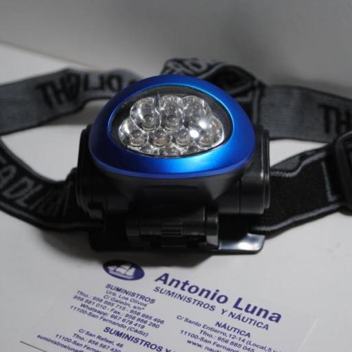 Linterna frontal de led Weatherproof [1]