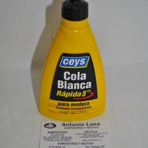 Cola blanca rápida 250g Ceys