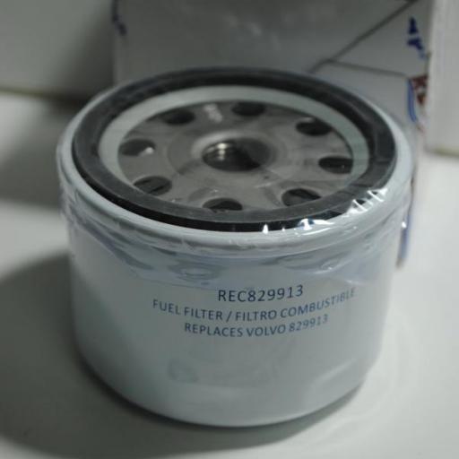 Filtro de combustible (equivalente Volvo 829913) RecMar