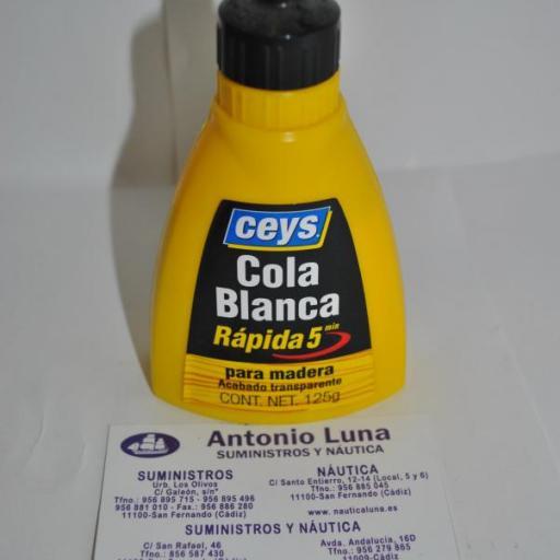 Cola blanca rápida 125 g Ceys
