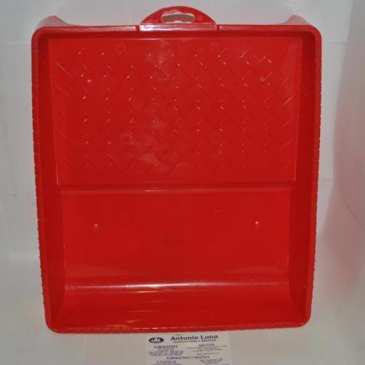 Cubeta de plástico para rodillos de pintar Jeivsa