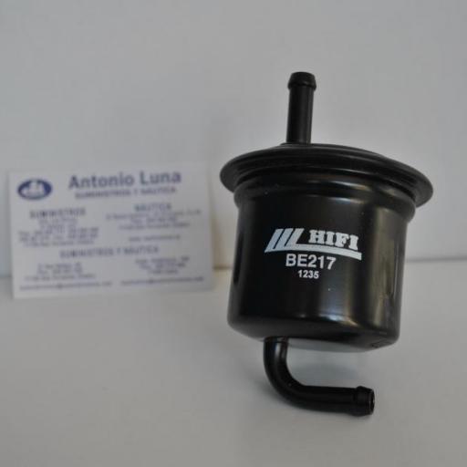 Filtro de combustible de alta presión (equivalente Suzuki 15440-90J00) BE217 Hifi