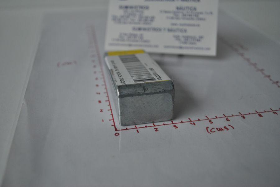 Ánodo de zinc (equivalente 41109-ZW1-003 Honda) Tecnoseal