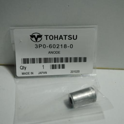 Ánodo de zinc original 3P0-60218-0 Tohatsu