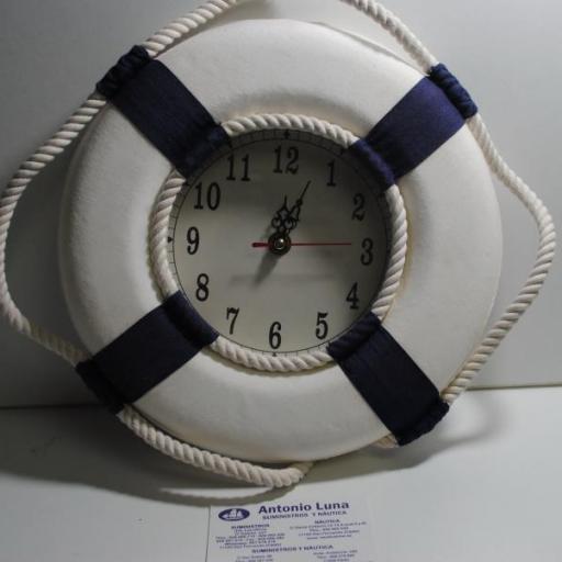 Salvavidas reloj azul