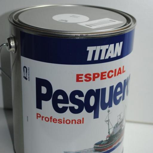 Esmalte Pesqueros blanco 4 lts Titan [1]