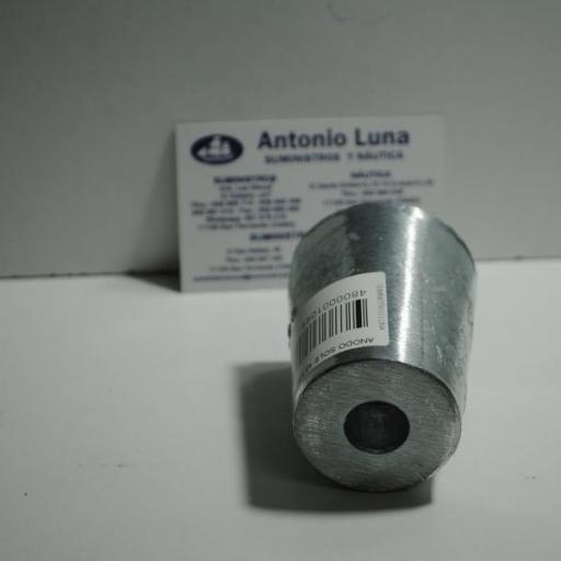 Ánodo de zinc para punta de eje Sole de 45-50mm Zineti [2]