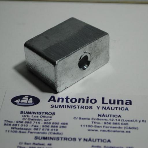 Ánodo de zinc (equivalente 395780 Johnson/Evinrude) Tecnoseal [2]
