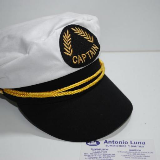 Gorra náutica Capitán  [2]