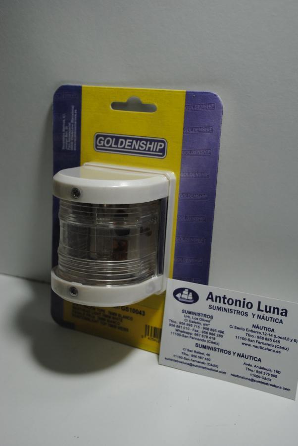 Luz de posición de tope blanca de 76 mm Goldenship