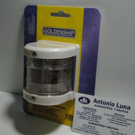 Luz de posición de tope blanca de 76 mm Goldenship [0]